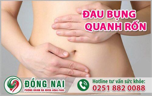 Cách chữa đau bụng dưới quanh rốn