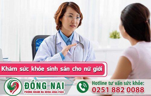 Khám sức khỏe sinh sản cho chị em phụ nữ uy tín