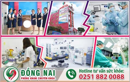 Phòng Khám Đồng Nai khám và điều trị các bệnh phụ khoa hiệu quả