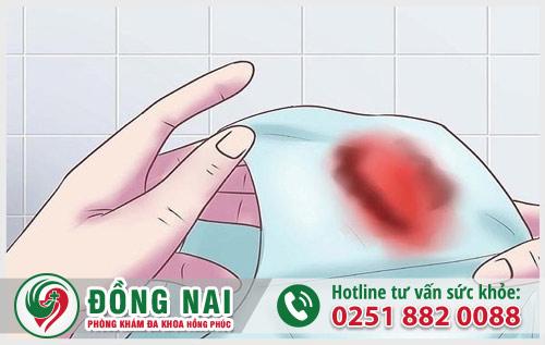 Nguyên nhân nữ giới sau quan hệ ra máu