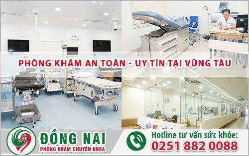 Phòng khám phụ khoa an toàn uy tín tại Vũng Tàu